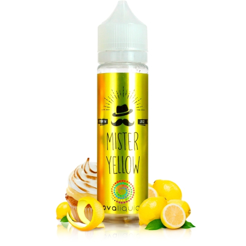 Mister Yellow 50ml - Nova Liquides