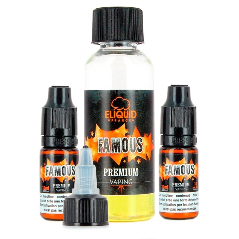Pack Famous 6mg - Eliquid France