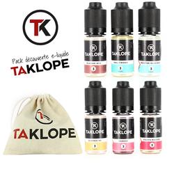 Pack découverte e-liquides - Taklope