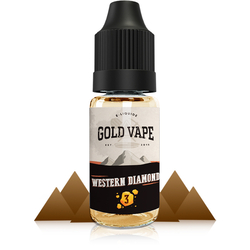 Western Diamond - Gold Vape