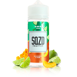 Mango Lime 100ml - SQZD