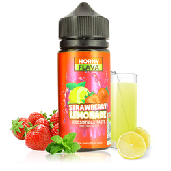 Strawberry Lemonade 100ml - Horny Flava