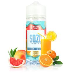 Blood Orange On Ice 100ml - SQZD
