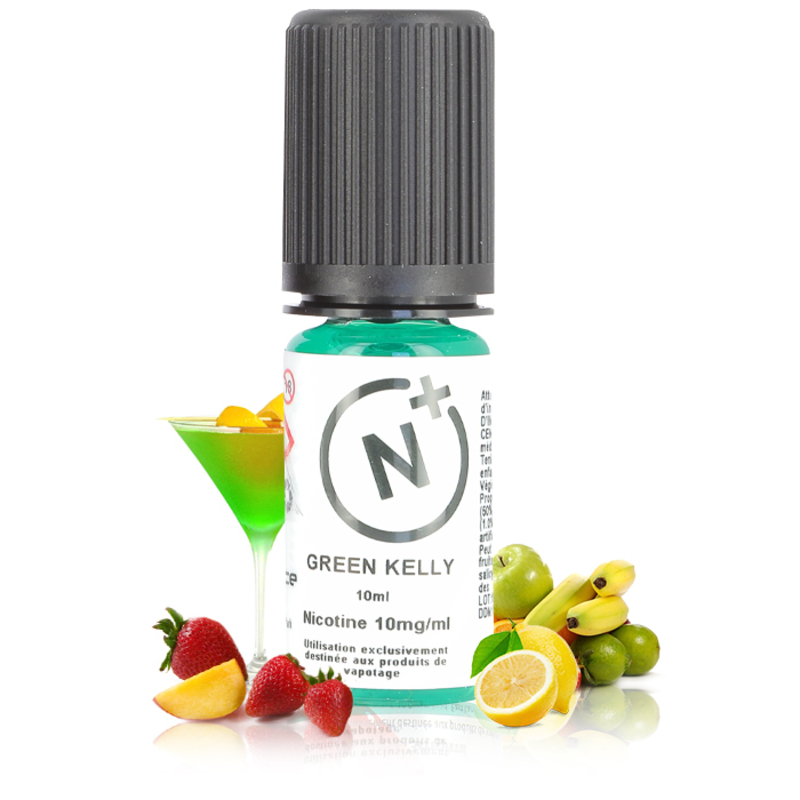 Green Kelly Sel de Nicotine - T-Juice Nicotine Plus