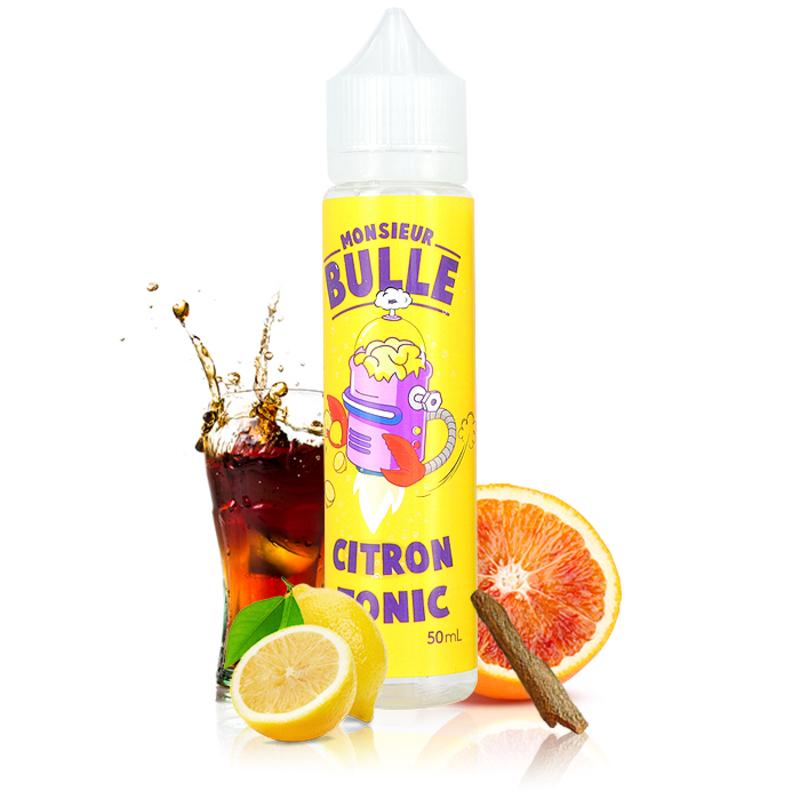 Citron Tonic 50ml - Monsieur Bulle