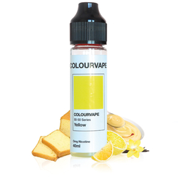 Colourvape Yellow 40ml - TMax Juice