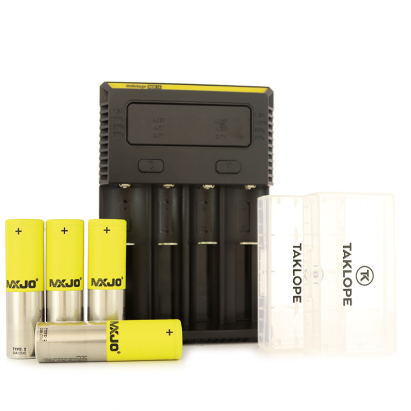 Pack 4 accus chargeur i4 - MXJO