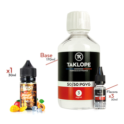 Pack DIY Mango Apricot 230ml - Vapempire
