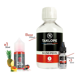 Pack DIY Red 230ml - Full Moon