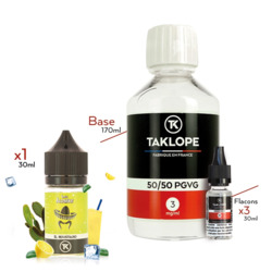 Pack DIY El Moustacho 230ml 50/50 3mg - Les Iconiks