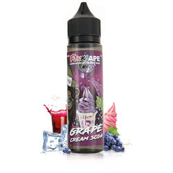 Grape Cream Soda 50ml - Funky Ape