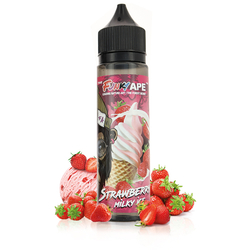 Strawberry Milky Ice 50ml - Funky Ape