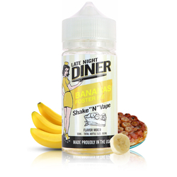 Bananas Foster Pie 50ml - Late Night Diner