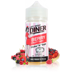 Berry Fruit Tart 50ml - Late Night Diner