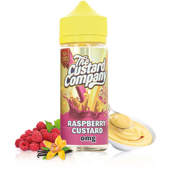 Raspberry Custard 100ml - The Custard Company