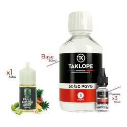 Pack DIY Green Infinity 230ml - Full Moon