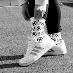 Chaussettes White - Taklope