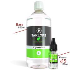 Pack Base Booster Végétal 1L - Taklope