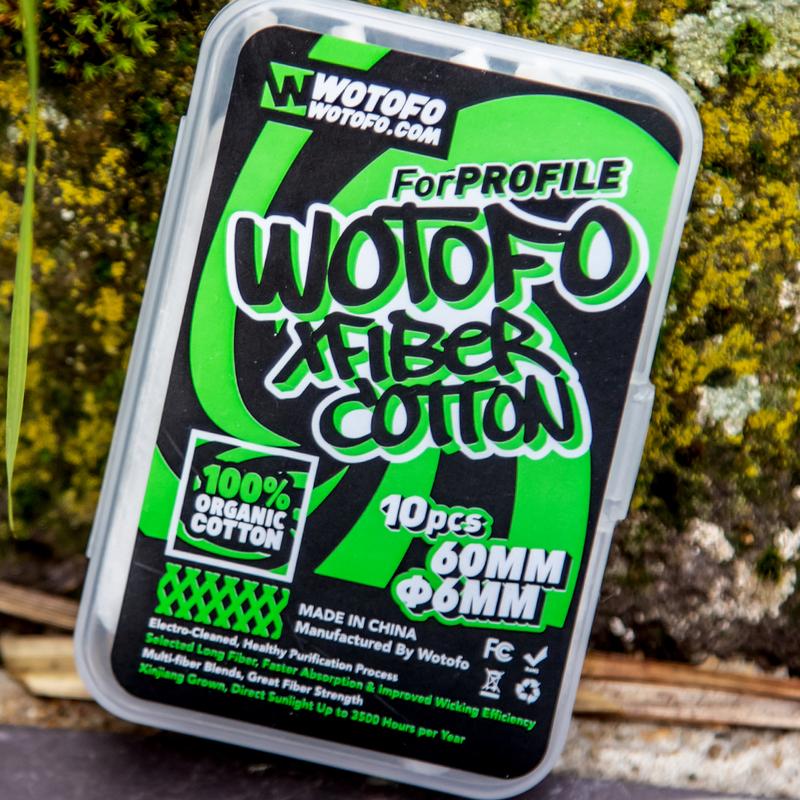 Coton Xfiber Profile - Wotofo