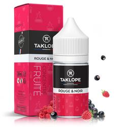 Concentré Rouge & Noir 30ml - Taklope