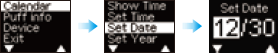 Calendrier Reglage Date