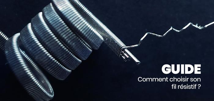 Voir le Guide sur les fils résistifs et coils