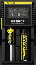 nitecore D2 charge des accus