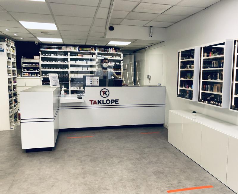 Magasin Taklope Store Grenoble Vicat Covid