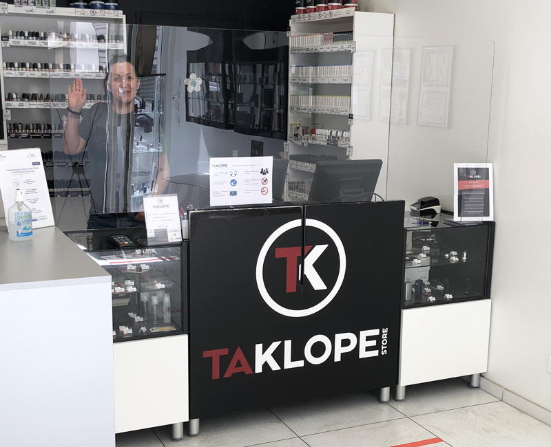 Taklope store valence covid