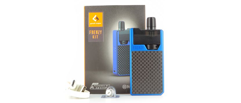 Composition du kit Frenzy Pod – Geek Vape