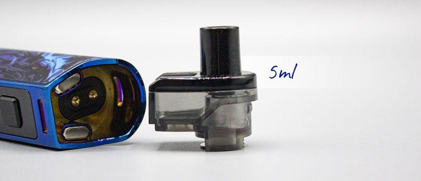Une contenance de 5ml pour le pod RPM80 Pro