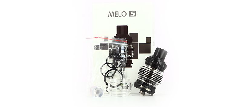 Clearomiseur Melo 5 – Contenu de la boîte