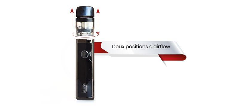 Modifiez l'airflow de votre vinci pod