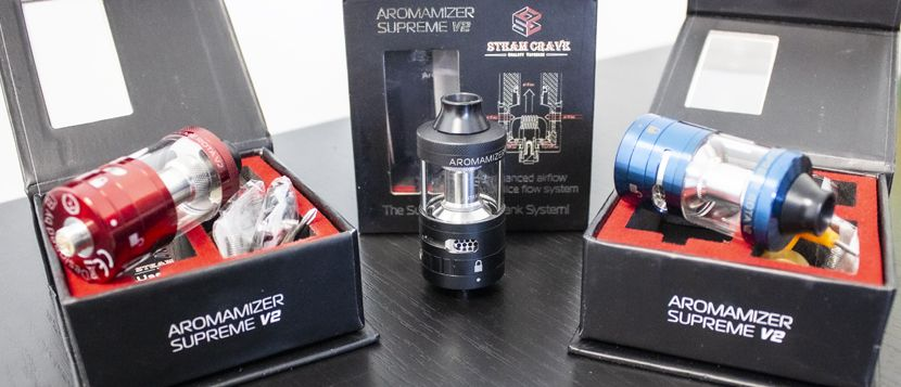 Aromamizer Supreme V2.1 RDTA – Steam Crave