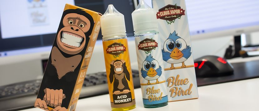 E-liquide Acid Monkey 50ml – Cloud Vapor