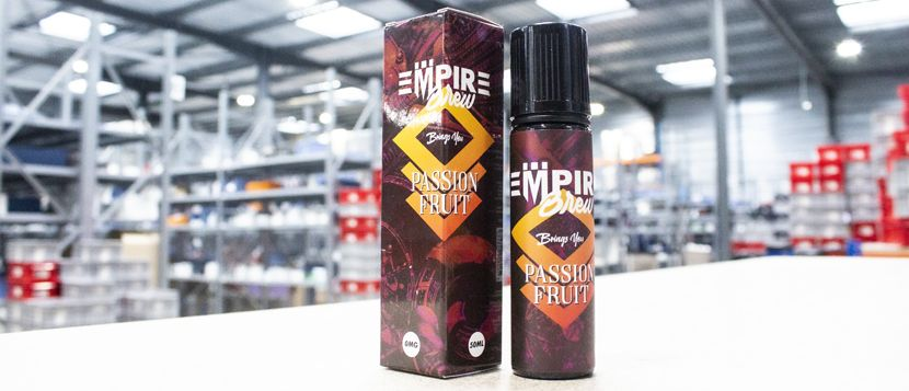 E-liquide Passion Fruit 50ml – Empire Brew