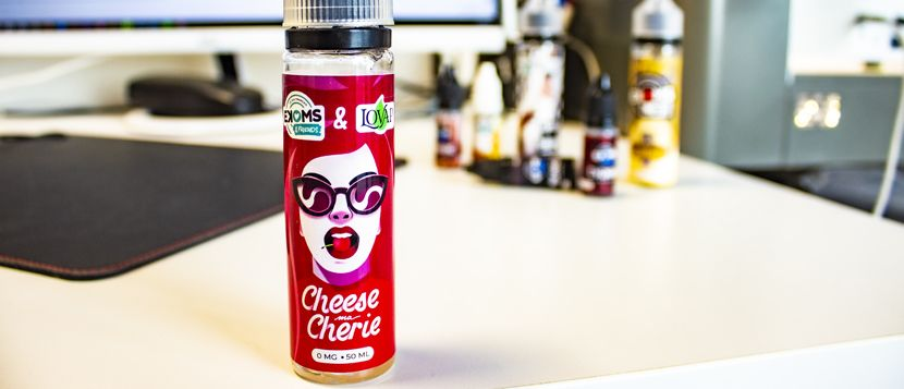 E-liquide Cheese ma Chérie 50ml – Ekoms & Friends