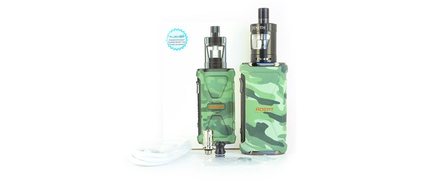 Composition du kit Adept Zenith – Innokin