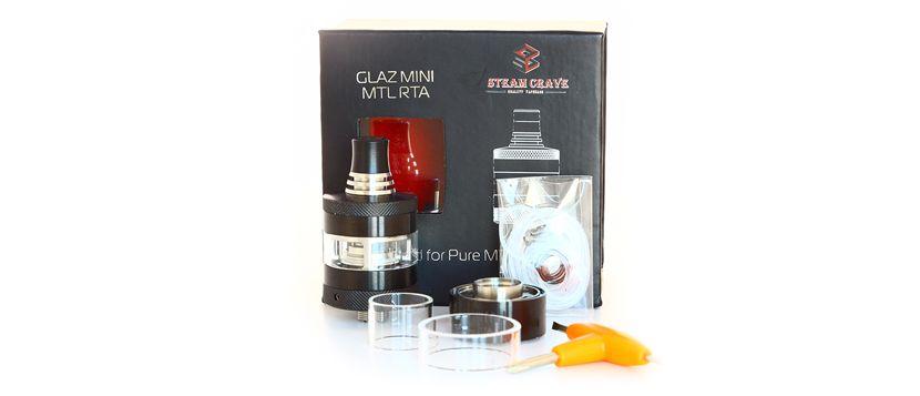 Atomiseur Glaz Mini RTA : contenu de la boîte