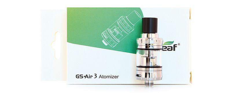 Clearomiseur GS Air 3 – Contenu de la boîte