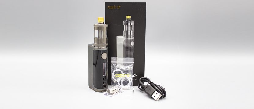 Composition du kit Nautilus GT – Aspire