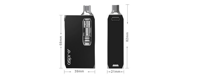 Aspire K1 Stealth : le look professionnel