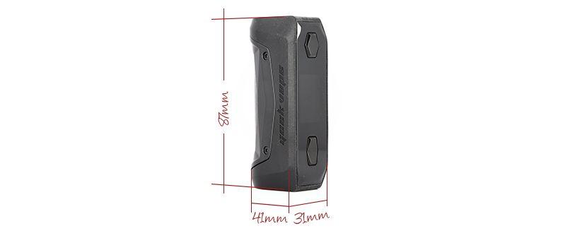 Box Aegis Solo : toujours compacte et ergonomique