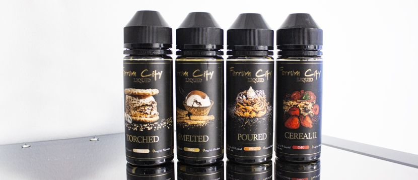 E-liquide Poured 120ML – FERRUM CITY