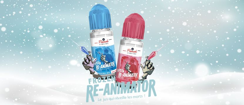 E-liquide Frozen Reanimator Original Mix 20ml – Le French Liquide