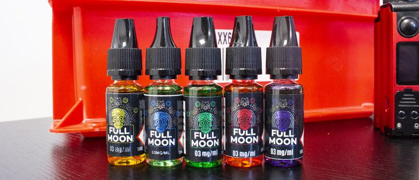 E-liquide Green 10ml - Full Moon