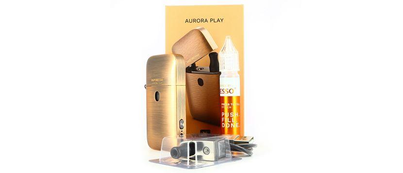 Composition du kit Aurora Play - Vaporesso