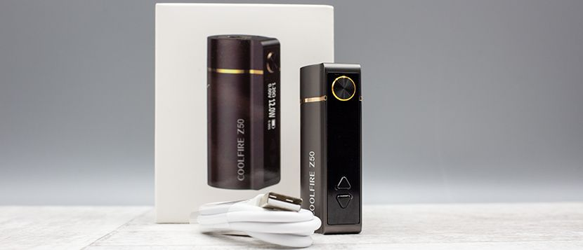 Box Coolfire Z50 Innokin – contenu de la boîte