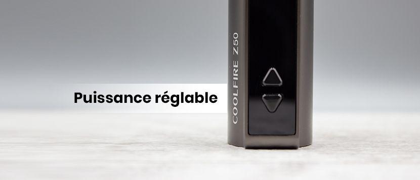 Coolfire Z50 : sophistiquée mais conciliante