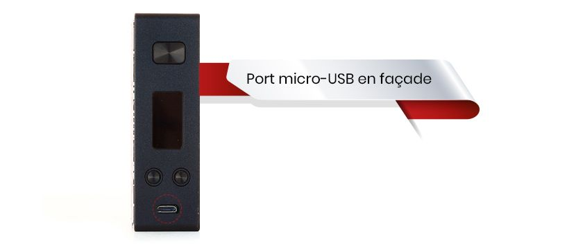 Rechargement USB